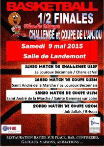 1/2 Finales Coupe et Challende Jeunes