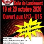 Stage Vacances U13 /U15